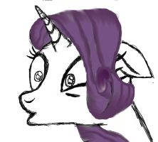 Rarity: My Fourth Piece -:Finished:- by Scarred-Brit-VG