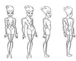 Livewire Model Sheet by Nes44Nes