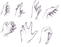 hand reference by alsei