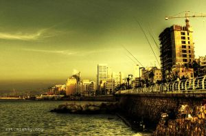 Corniche Beirut by alahay