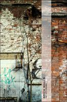 Brick Walls - set 01 by nighty-stock