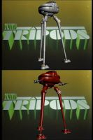 The Tripods by EUAN-THE-ECHIDHOG