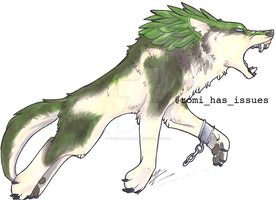 Wolf Link by yitchakandray