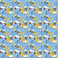 Adventure Time Repeating Pattern by Abblecrumble