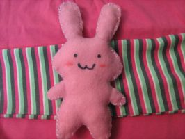 bunny plush by RaZero0