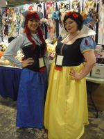 Ariel and Snow White by SailorUsagiChan