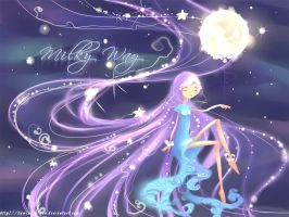 Milky way by kaminary-san