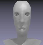 Blender Model - Head by Migulifin