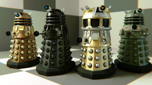 New Series Daleks Render by WhosWho23