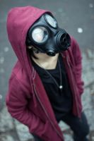 Gas Mask: Gloom by hikari-twilight