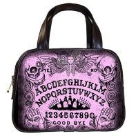 Pink Ouija Board Hand Bag by ShayneOtheDead
