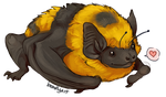 Bee Bat by aureath