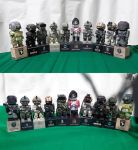 Paper Soldiers v2 Papercraft by Mironius
