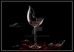 The Wineglass by Mallemagic