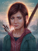 The Last Of Us - Ellie by Inna-Vjuzhanina