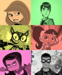Kid Heroes Collage 2 by Whatsername68