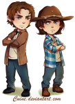 Ron and Carl by Cuine