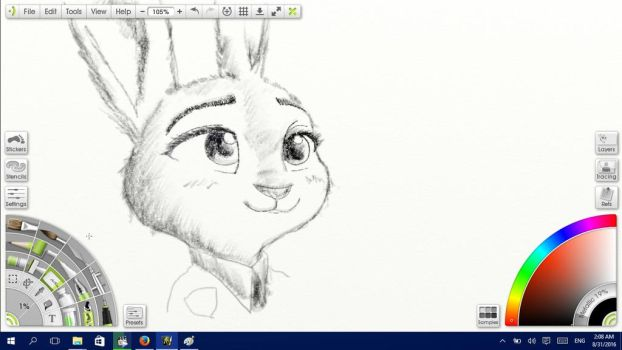 WIP: Judy Hopps by Solitude-Cried