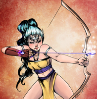 The Witch Archer by robertadecastro