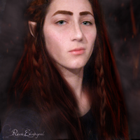 Amrod, male-Elfi-fication by ElverynelCreations