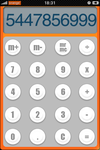 iPhone Dashboard Calc Skin by IlanF