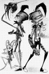 invader zim in dead space by kamisami