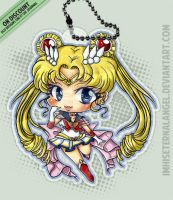 [OLD] Super Sailor Moon Keychains by ImHisEternalAngel