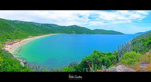 Panorama at Praia do Forno - Brasil by byCavalera