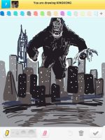 Draw Something: King Kong by AskGriff