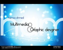 multimedia and graphic desgin by hamzaahmed
