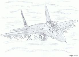 Mig-35 by NDTwoFives