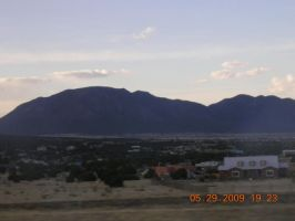 ABQ NM Mountains by eires666
