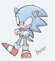 Sonic Old School by NENIKAT