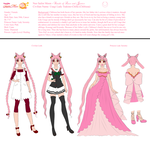 Chibiusa Tsukino Character Concept by The-Devil-Butterfly