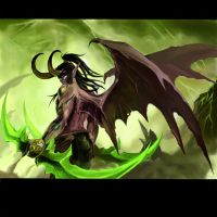 Illidan Stormrage by Domalyus