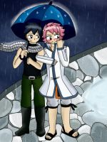 Rainy Day :Gratsu: :Fairy Tail: by roxiuuu