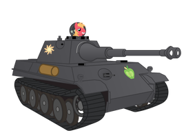 Big Mac driving Pzkpfw V Panter by DolphinFox