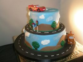 Cars cake by ninny85310