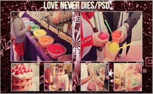 Love never dies PSD. by differentfeelings