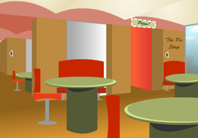 Cafeteria Background by RubixChick