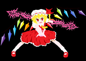Flandre Scarlet by UnknownSquid