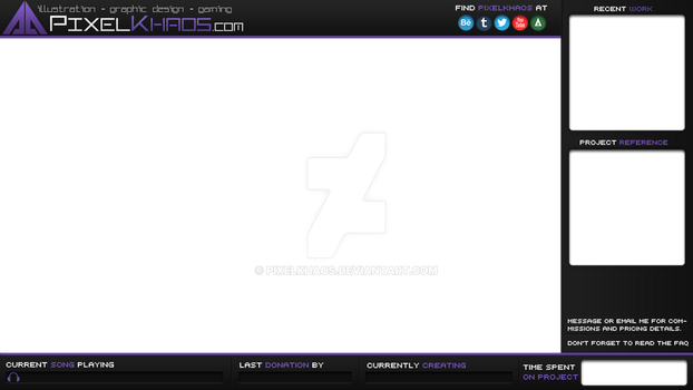 PixelKhaos streaming overlay [old] by PixelKhaos