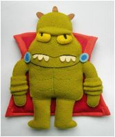 Lrrr - Futurama Plushie by elbooga
