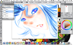 Testing out Corel Painter X3 by CloakedSchemer-VI