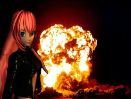 MMD:Doomsday Luka by chibicosplayer