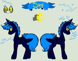 .: MLP : Sky REF :. by Rainb0wTwister