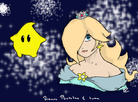 Princess Rosalina And Luma by 3Dogz