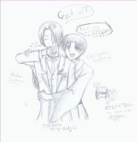 Shigure and Hatori - Tea. :3 by chibi-sango-chu