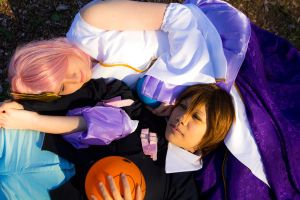 Lacus and Kira by BertLePhoto
