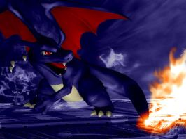 Dark Charizard by SP4RT4N-23